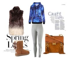 """""""Untitled #264"""" by alija-i ❤ liked on Polyvore featuring H&M, Puma, Great Plains, UGG and Chloé"""