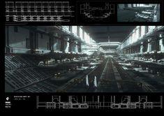 ArtStation - Docking Bay, Federico Pelat