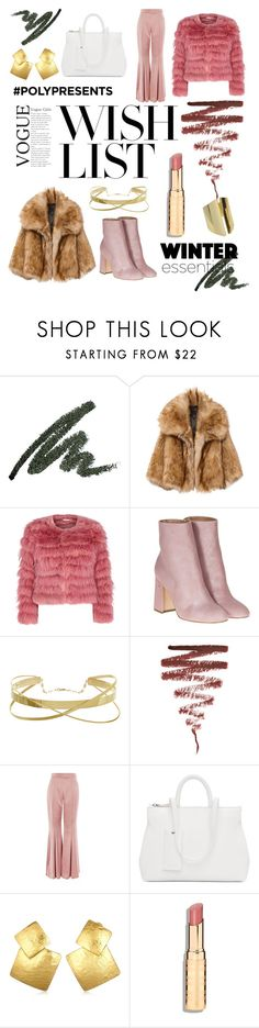 """#PolyPresents: Wish List"" by annadrust ❤ liked on Polyvore featuring Alice + Olivia, Laurence Dacade, Illamasqua, Topshop, Marsèll, Oscar de la Renta, contestentry and polyPresents"