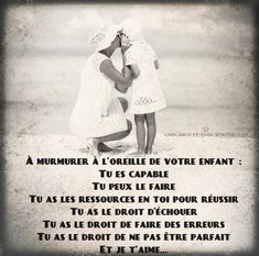 #citation #citationdujour #proverbe #quote #frenchquote #pensées #phrases #french #français Bible Quotes About Love, Quote Citation, Love Amor, Nursery School, Good To Know, Affirmations, Saving Money, Me Quotes, Parenting
