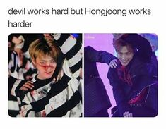 K Pop, Steven Universe, Selca, Funny Kpop Memes, Kdrama Memes, Kim Hongjoong, Korean Language, Kpop Guys, Soyeon