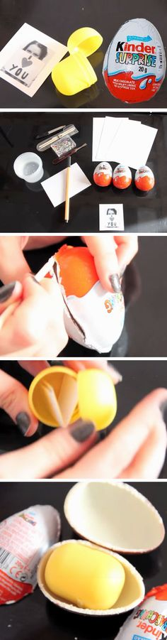 Customized Surprise Egg | 23 DIY Valentines Crafts for Boyfriend | DIY Birthday Gifts for Him