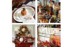 Kickoff to the fall season with decorating,entertaining, craft, and recipe ideas.  anderson + grant