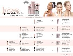 Free Mary Kay® Timewise® Repair™ Volu-Firm™ Conversion Chart | QT Office Blog