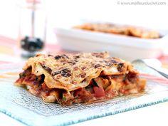 Lasagnes aux légumes - Meilleur du Chef Kitchen Sale, Apple Pie, Pasta Recipes, Lasagna, Menu, Mamma Mia, Yummy Food, Cooking, Ethnic Recipes
