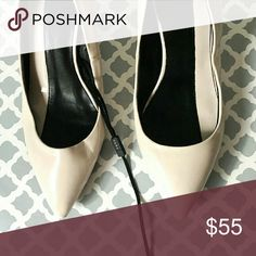 Zara Collection D'Orsay Heels In excellent condition. Minor flaw is a black mark across one heel.  See third picture.   Can easily be fixed with nail or shoe polish. Wah-lah! :) Size 36 (6 US). Ships within one day. Zara Shoes Heels