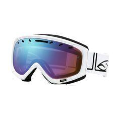 Smith Sport Optics Phenom Snowsport Goggles - Spherical Lens in White Foundation/Sensor Mirror