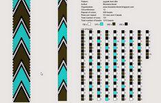 12 around tubular bead crochet rope pattern. Crochet Bracelet Pattern, Crochet Beaded Bracelets, Bead Crochet Patterns, Bead Crochet Rope, Peyote Patterns, Weaving Patterns, Beaded Crochet, Beaded Crafts, Crochet Necklace
