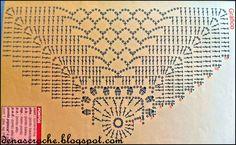 Dena's Crochê: Toalhinhas de Crochê com gráfico