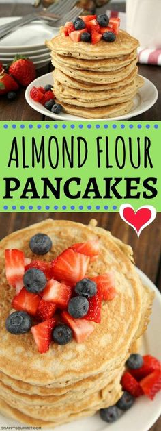 Almond Flour Pancakes – easy gluten free pancakes made in a blender! Almond Flour Pancakes – easy gluten free pancakes made in a blender! Almond Flour Pancakes, Almond Flour Recipes, Gluten Free Pancakes, Pancakes Easy, Keto Pancakes, Breakfast Pancakes, Breakfast Casserole, Gluten Free Pancake Recipe Easy, Pancake Recipe For Diabetics