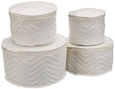 Quilted China Storage Cases Protects Your Fine China From Dirt And  Chipping. Comes With Thick.