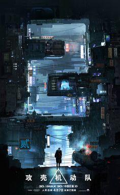 Science fiction inspiration sci fi cyberpunk city Ideas for 2019 Ville Cyberpunk, Cyberpunk City, Futuristic City, Concept Architecture, City Architecture, Futuristic Architecture, Series Poster, 3d Poster, Space Opera