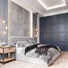 La chambre est l'espace le plus personnel de la maison, elle doit donc être conçue avec nos préférences personnelles. Voici quelques inspirations pour la conception de votre propre chambre. Voir plus en cliquant sur l'image #chambre #litdeluxe #designchambre #design #designdeluxe #ideesluxe#designidees #inspirations