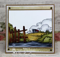 A World of Creative Possibilities: Kraftin' Kimmie Stamps : Wonderful Wednesday on the farm!