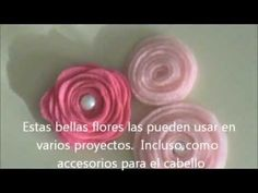 Flores de Fieltro Tutorial - Scrapbook - YouTube