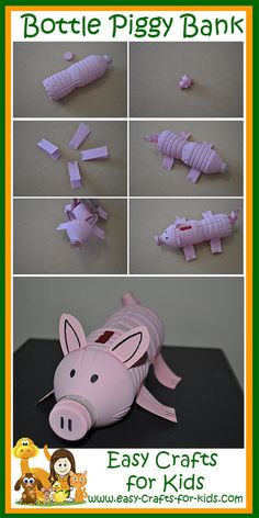 Step by Step Instructions for Farm Animal Crafts for Kids