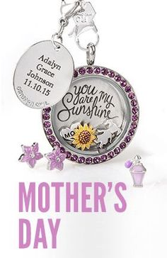 Origami Owl. Mother's Day collection.