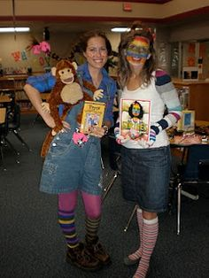 Character Day Ideas (instead of halloween costumes). Great ideas for the teachers costumes! Book Characters Dress Up, Character Dress Up, Book Character Costumes, Book Costumes, Costume Ideas, Halloween Costumes, Storybook Characters, Halloween Ideas, Halloween 2015