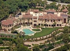 Beverly Hills, CA - Eddie Murphy built a Mission-style $20 million mission in 2005.
