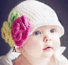 süße blume eule geformt kinder hüte und mützen baby mädchen häkeln beanie hüte für kinder weiße farbe-Babymüntze-Produkt ID:1923053168-german.alibaba.com