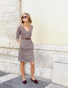 Cressida Dress - cute layering dress with sleeves that is not too tight but not an a-line.