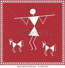 warli painting designs - Google Search