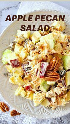 Healthy Salad Recipes, Vegan Recipes Easy, Pasta Recipes, Vegetarian Recipes, Cooking Recipes, Vegan Comfort Food, Vegan Dinners, Sauce, Soup And Salad
