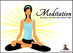 ‪#‎Meditation‬ is also good for people with high blood pressure. ‪#‎harishshetty‬