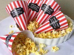 Movie Night/Vintage/Retro Themed Party (use something other than popcorn for Under 2's)
