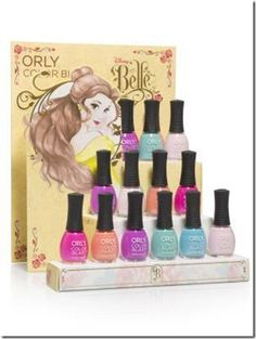 New Belle Inspired Soho Cosmetic Bags and Orly Nail Polish Released!