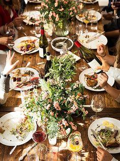 """Ourlargest takeaway here: Prepare well, but don't expect perfection. Alison was setting her table the other night and noticed """"every single plate was chipped, many of the napkins were a bit tattered—but that means they've been loved and used."""""""