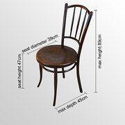 Entwood Pair Of Chairs J & J Kohn Austria Embossed - Antiques Atlas