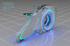 Tron: Uprising vehicle designs by Vaughan Ling. Velo Design, Bicycle Design, Futuristic Interior, Futuristic Art, Tron Bike, Tron Uprising, Off Road Camper Trailer, Motorbike Design, Tron Legacy