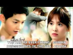 You Are My Everythingh di Gummy Dal drama Descendants of the sun Attori: Song Joong-ki (Capitano Yoo Shin-jin/Big Boss) Song Hye-kyo (DottoressanKang Mo-yeon. Song Hye Kyo, Song Joong Ki, Seo Dae Young, Only Song, Jin Goo, Descendants, Drama, Sun, Music