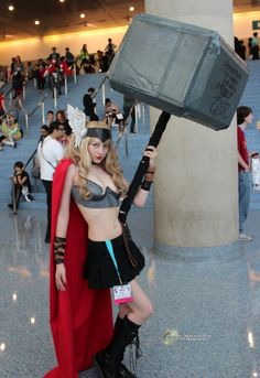 They say that size matters, but this is ridiculous. Whatever you do, don't make this Thor angry.    [via ComingSoon.net]