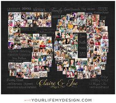 Birthday Photo Collage, Birthday Photos, Friend Birthday, 50th Birthday, Best Friend Tag, Best Friends, Jefferson Street, Heart Collage, Photography Collage