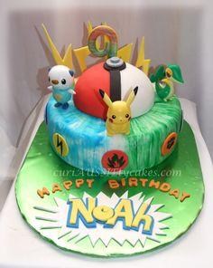 Pokemon cake - Cake Decorating Community - Cakes We Bake Pokemon Torte, Pokemon Cakes, Pokemon Birthday Cake, Birthday Cakes, Pikachu Cake, 10th Birthday Parties, Birthday Ideas, Character Cakes, Crazy Cakes