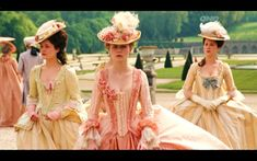 "Costumes from the Movie ""Marie-Antoinette"" directed by Sofia Coppola (2006)"