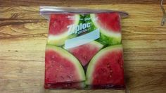 This fitted up watermelon. | 29 Food Pictures So Satisfying They'll Actually Make You Hungry