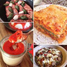 20 italienische Low Carb Rezepte ohne Getreide und Zucker Die italienische…