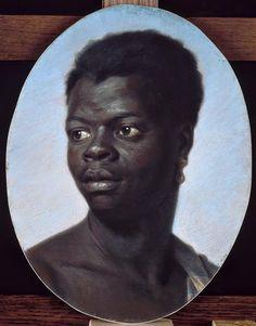 Maurice Quentin de La Tour : Portrait dun jeune Nègre.