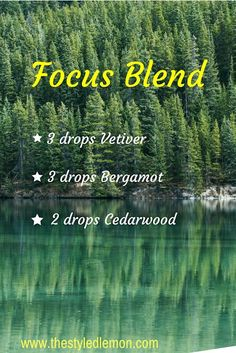 My favorite essential oil diffuser blends. blend to stay focused. Helps with studying homework tests work ADD ADHD stress. - Essential Oil Diffuser - Ideas of Essential Oil Diffuser Essential Oils For Headaches, Essential Oil Diffuser Blends, Doterra Essential Oils, Yl Oils, Vetiver Essential Oil Uses, Adhd Oils, Doterra Diffuser, Aromatherapy Diffuser, Oils For Energy