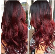 Gorgeous wine-colored red by Taylor Blake (@taylorblake_stylist on Instagram)