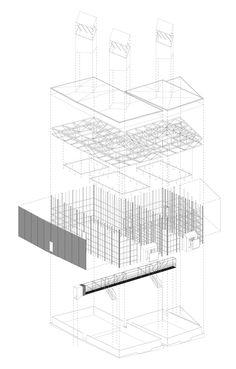 Peter Zumthor | Shelter for Roman Ruins | Chur, 1985-86