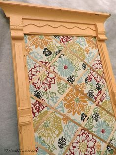 Tried and Twisted: DIY Antique Framed Memo Board