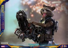 """If there's a summer blockbuster on the way, you can always count on Sideshow and Hot Toys to roll out a finely crafted collectible statue to part us with as much of our hard-earned money as we can sell blood to fork over. Marvel's upcoming """"Guardians of the Galaxy Vol. 2"""" is hardly an exception. …"""