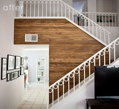 what to do with wood panel walls - Google Search