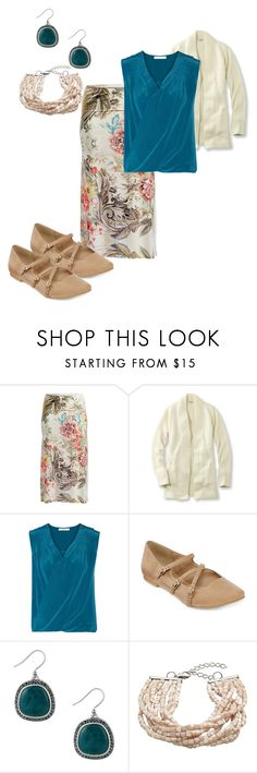 """Untitled #82"" by deb-coe on Polyvore featuring Poliana Plus, L.L.Bean, Bailey 44, Restricted, Lucky Brand and John Lewis"