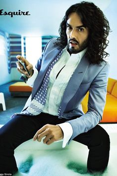 Russell Brand.  Funny as hell but I would never marry him.