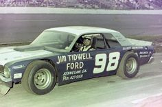 Jody Ridley rarely missed a big race. Here he is in his Fabulous Falcon @ New Smyrna Speedway.